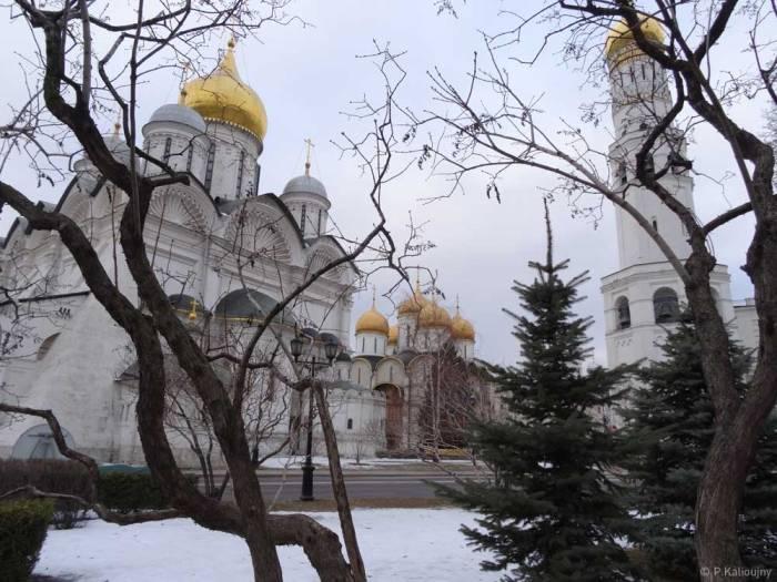 les oignons dorés du Kremlin.