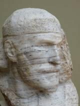 """Découverte d'un très grand sculpteur, Sergey Timofeyevich Konenkov (874-1971), appelé, paraît-il, le """"Rodin Russe"""". Ici, un autoportrait."""