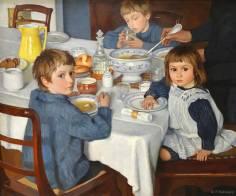"""Serebryakova. """"Le déjeuner""""."""