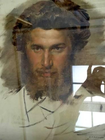 Autoportrait d'un Surikov plein d'assurance. Et pardon pour les reflets dans la vitre !