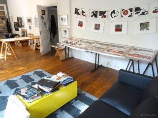 Portes ouvertes de l'atelier (septembre 2015)