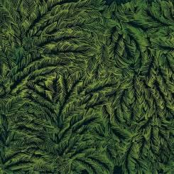 TaÏga. Planche linogravée extraite de Baba-Yaga. Linocut from the album Baba-Yaga. 2018. environ 25 x 57,5 cm.